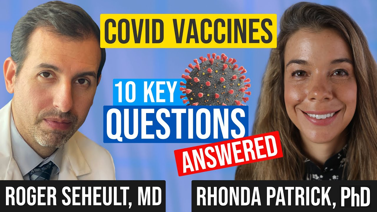 Download COVID Vaccine Myths, Questions, and Rumors with Rhonda Patrick and Roger Seheult