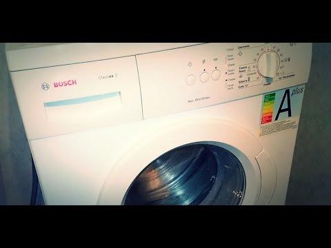 Как заменить подшипники в стиральной машине Bosch classixx 5