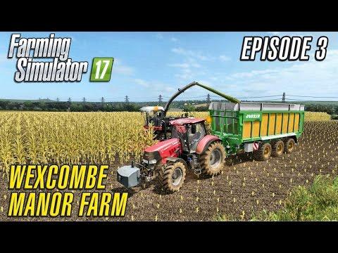 Let's Play Farming Simulator 2017 | Wexcombe Manor Farm 17 | Episode 3