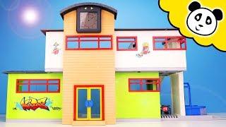 Playmobil Schule Unboxing - Die NEUE SCHULE! - Spielzeug auspacken & spielen - Pandido TV