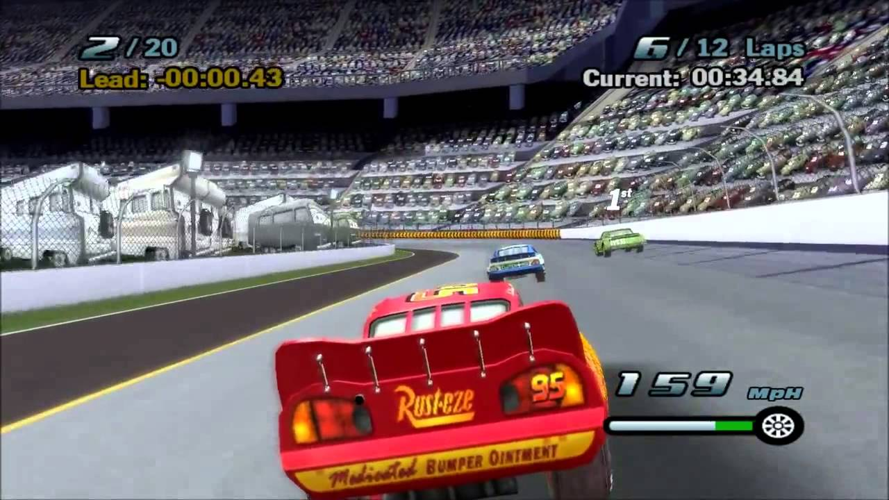 Cars The Game Story Mode Disney Mcqueen Games For Kids