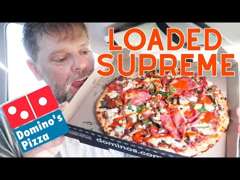 Domino's Loaded Supreme Pizza Food Review – Greg's Kitchen