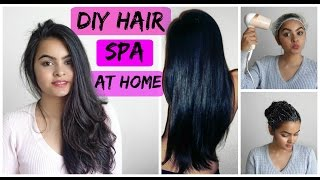 DIIY Hair Spa At Home- Soft, Shiny, Sliky Hair Naturally  how To Do Hair Spa At Home Pragya Mittra