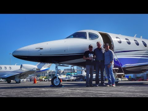 FLIGHT VLOG - FIRST TIME FLYING A JET!