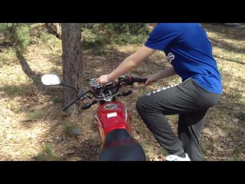 Motoland 150 обзор и тест-драйв мотоцикла(Пародия на Андрея Скутерца)