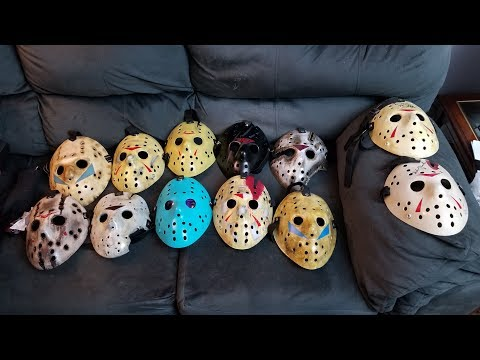 My Jason Mask/Hockey Mask Collection & Mask Giveaway