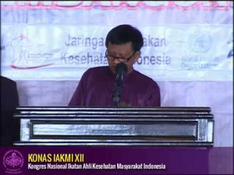 dr. Adang Bachtiar, MPH, ScD - Ketua Umum IAKMI Pusat