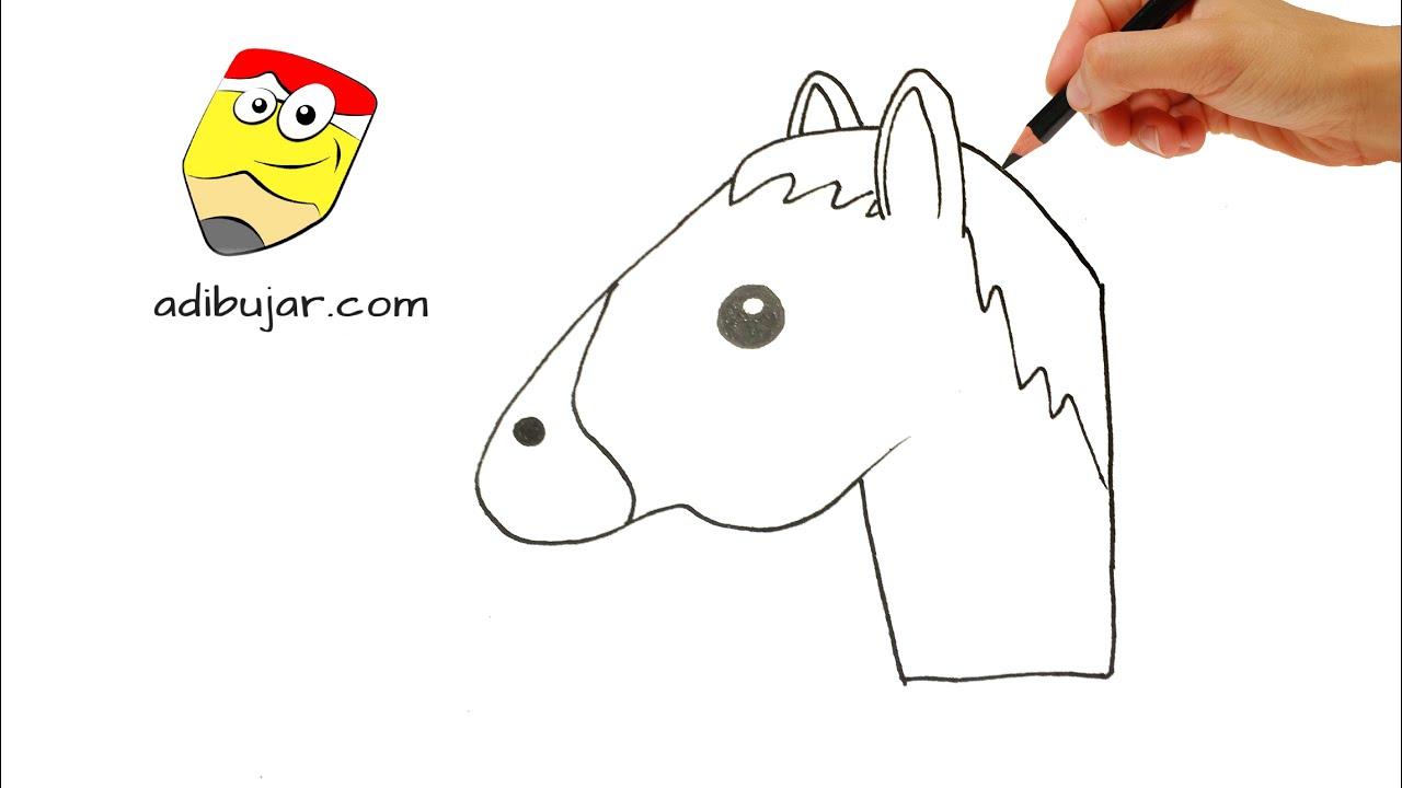 Como Dibujar Un Caballo Fácil: Emojis Whatsapp