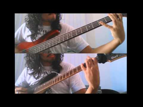 Brocas Helm - Cry Of The Banshee (Guitar and Bass cover by Daniel Fauaze)
