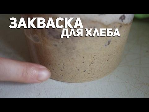 ЗАКВАСКА для ХЛЕБА. Из чего и как её сделать?из YouTube · Длительность: 6 мин26 с  · Просмотры: более 243.000 · отправлено: 19-5-2013 · кем отправлено: vatrushaj