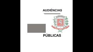 AUDIÊNCIA PÚBLICA DA SAÚDE 05/2019