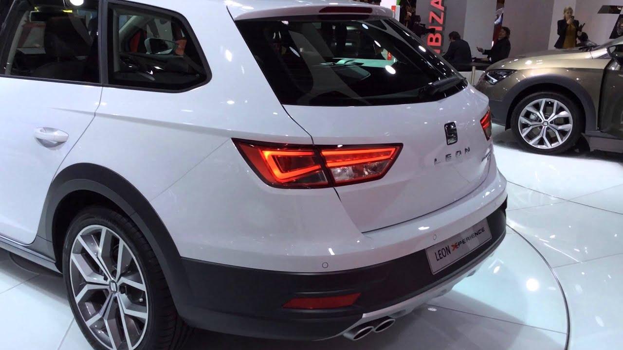 seat leon xperience first look at paris auto show youtube. Black Bedroom Furniture Sets. Home Design Ideas