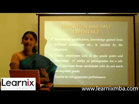 Human Resource Management - HRM - MBA Online Tuition Class.