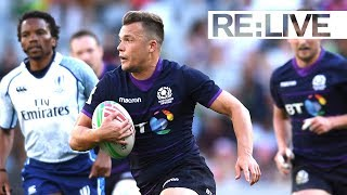 RE:LIVE: Brilliant offload leads to Scotland try