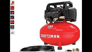 Craftsman CMEC6150 Pancake Air Compressor Test
