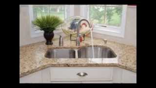 Corner Kitchen Sinks Design Decorating Ideas