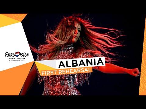 Anxhela Peristeri - Karma - First Rehearsal - Albania ?? - Eurovision 2021