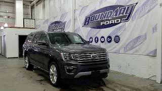 2018 Ford Expedition Limited Max W/ 7 Passenger Seating, Large Moonroof Overview   Boundary Ford