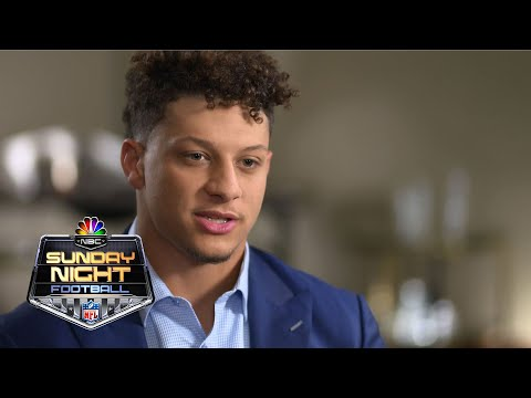 Patrick Mahomes on Chiefs offense, how his style compares to Tom Brady I NFL I NBC Sports
