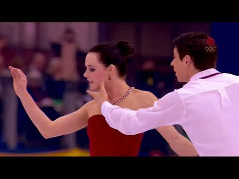 Tessa Virtue and Scott Moir reacts to their 20 years montage