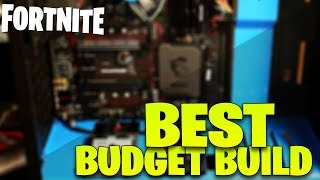 BUILDING THE ULTIMATE FORTNITE BUDGET GAMING PC! // $1000 BEAST PC // OVER 200 FPS ON EPIC SETTINGS
