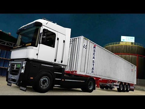 vote no on ets 2 mods renault magnum 0 2. Black Bedroom Furniture Sets. Home Design Ideas