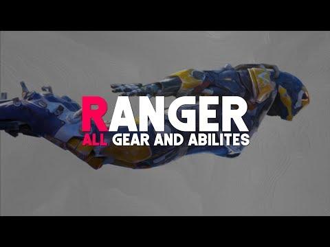 Anthem   Ranger (ALL GEAR & ABILITIES)