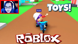 ROBLOX MEEP CITY | JUST A KID PLAYING WITH TOYS! | RADIOJH GAMES