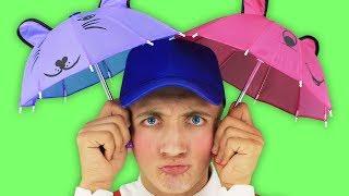 Rain Rain Go Away Funny Kids Song