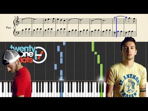 twenty one pilots: Implicit Demand For Proof - Piano Tutorial + Sheets