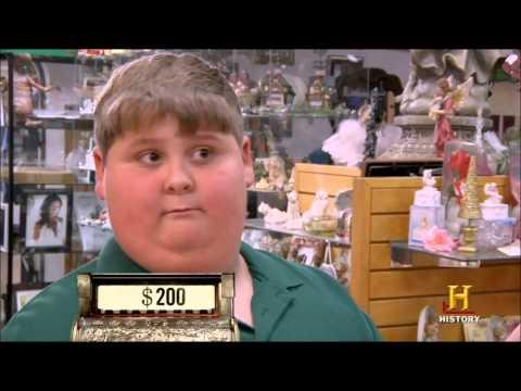 Fat kid funny reaction   Cajun Pawn Stars