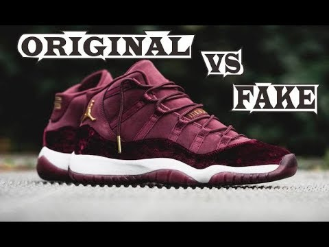 cheap for discount 92d35 4f978 Nike Air Jordan 11 Retro RL GG Red Velvet Original   Fake