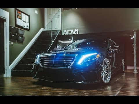 ADV.1 Wheels '15 Mercedes S63 AMG w/ ADV15 CS Series Track Spec 22's