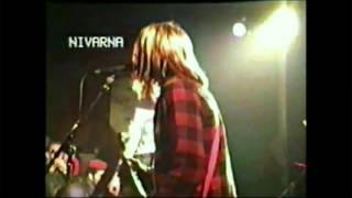 Nirvana SPANK THRU live in France 1989