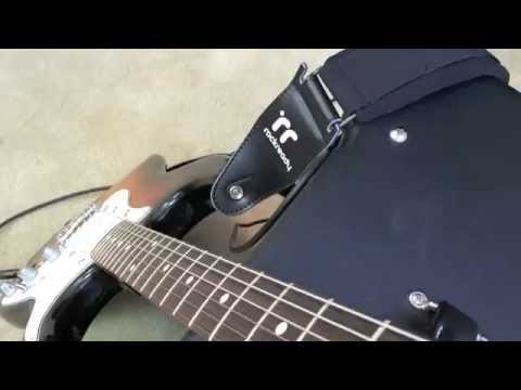 Rockready Ultra Strap - Guitar Strap Comfort - Padded Guitar Strap - Neal Walter Guitar