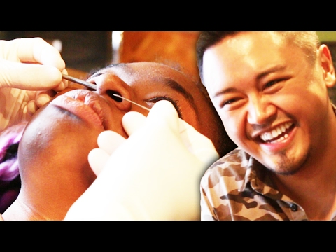Thumbnail: Best Friends Pick Surprise Piercings For Each Other