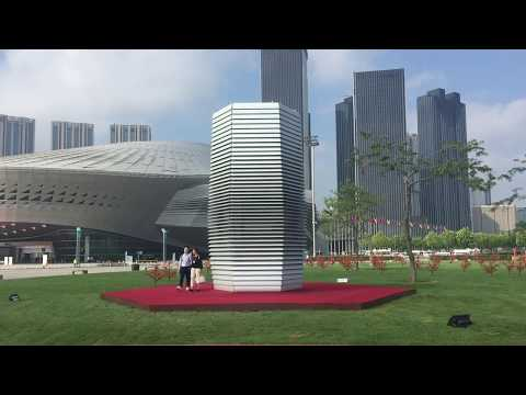 Smog Free Project at the World Economic Forum Dalian, China
