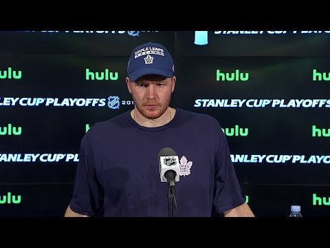 Maple Leafs Post-Game: Frederik Andersen - April 23, 2018