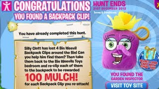 Bin Weevils - Backpack Clips Hunt