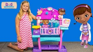The Assistant Unboxes Doc McStuffins All in One Baby Nursery