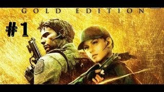 Resident Evil 5 Gold Edition [HD] Veteran Walkthrough Part 1 - Chapter 1-1 1/2