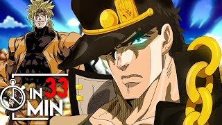 JOJOS BIZARRE ADVENTURE PART 3 IN 33 MINUTEN