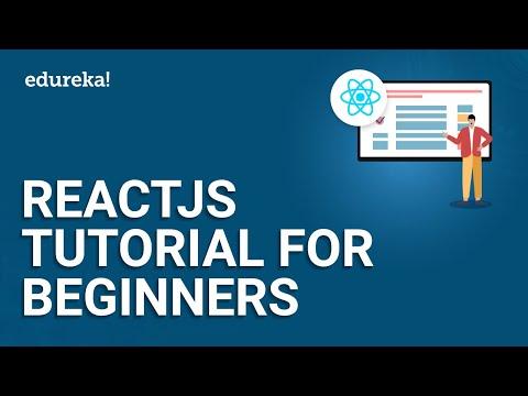 ReactJS Tutorial For Beginners | ReactJS Redux Training For Beginners | React Tutorial | Edureka
