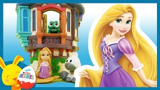 Histoire Raiponce -  Disney Animators - Raiponce Pascal et Maximus - Titounis Touni Toys