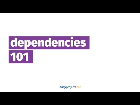 Dependencies in Project Management - Project Management Made Easy