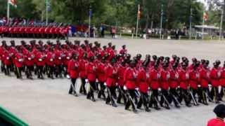 COMMISSION PARADE AT THE TANZANIA MILITARY ACADEMY 2013