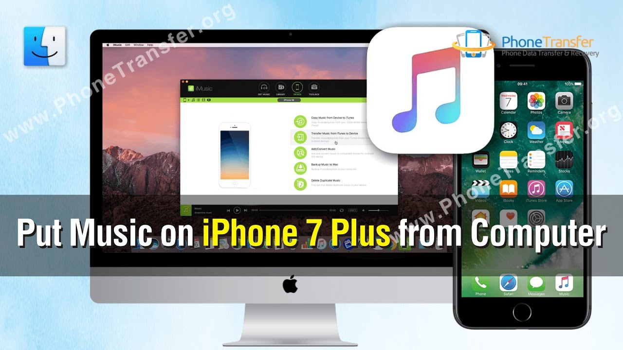 how to put videos from computer to iphone 5