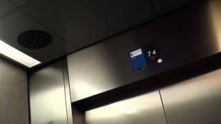 KONE High-Speed Traction Elevator @ Q1 Tower Skypoint, Gold Coast, QLD