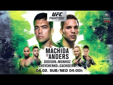 UFC Fight Night Belem Machida v Anders Fight Breakdowns & Predictions