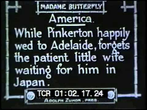 Madame Butterfly (1915) Mary Pickford lost silent film